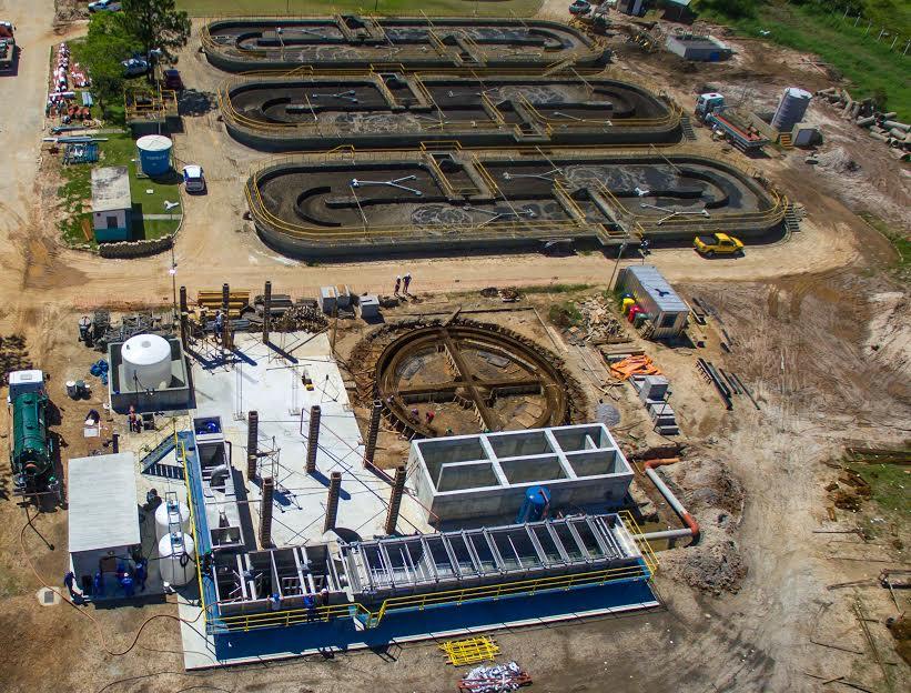 Começa a funcionar nova Estação de Tratamento de Esgoto em Canasvieiras