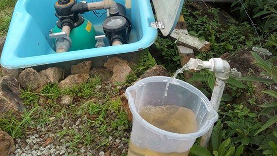 Moradores do Norte da Ilha reclamam da cor da água da Casan