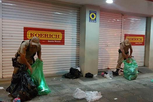 Polícia Militar faz mais uma apreensão de produtos ilegais em Canasvieiras