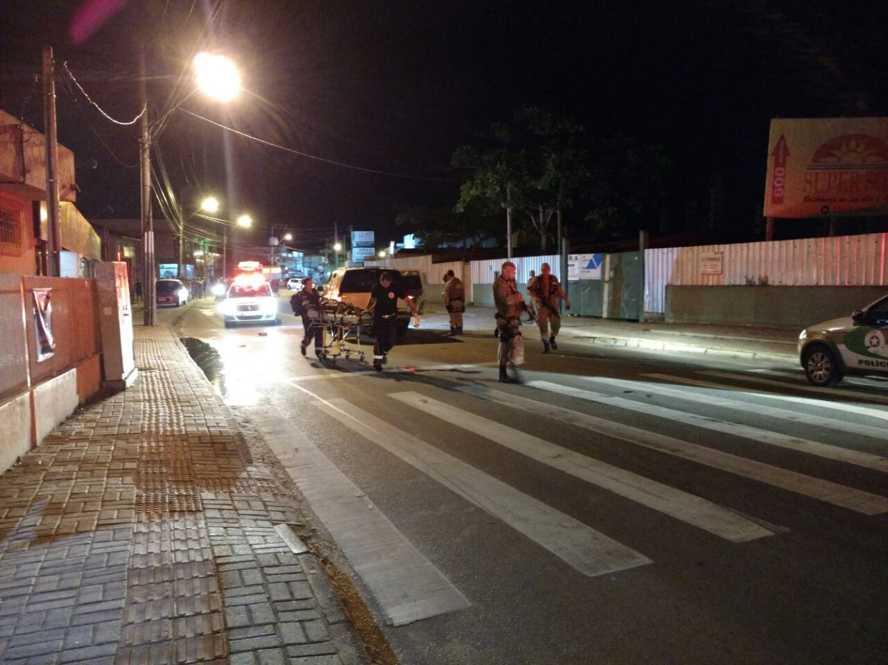 Roubo de carro argentino termina em perseguição e troca de tiros