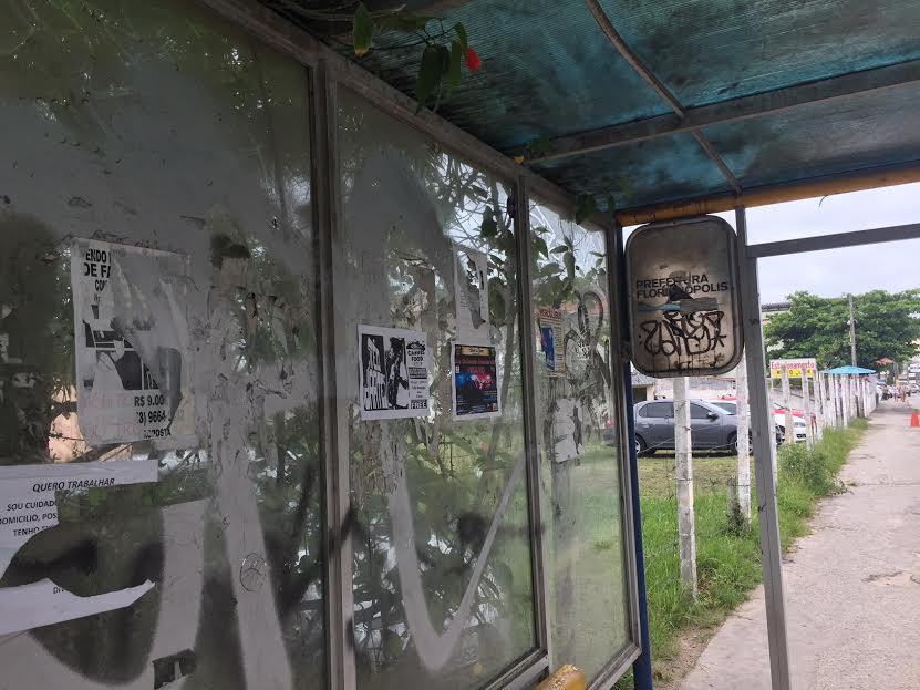 Comcap vai atuar na recuperação dos abrigos de ônibus em Florianópolis