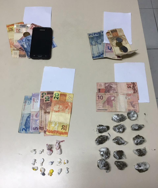 Jovens são presos por tráfico de drogas durante operação policial em Canasvieiras
