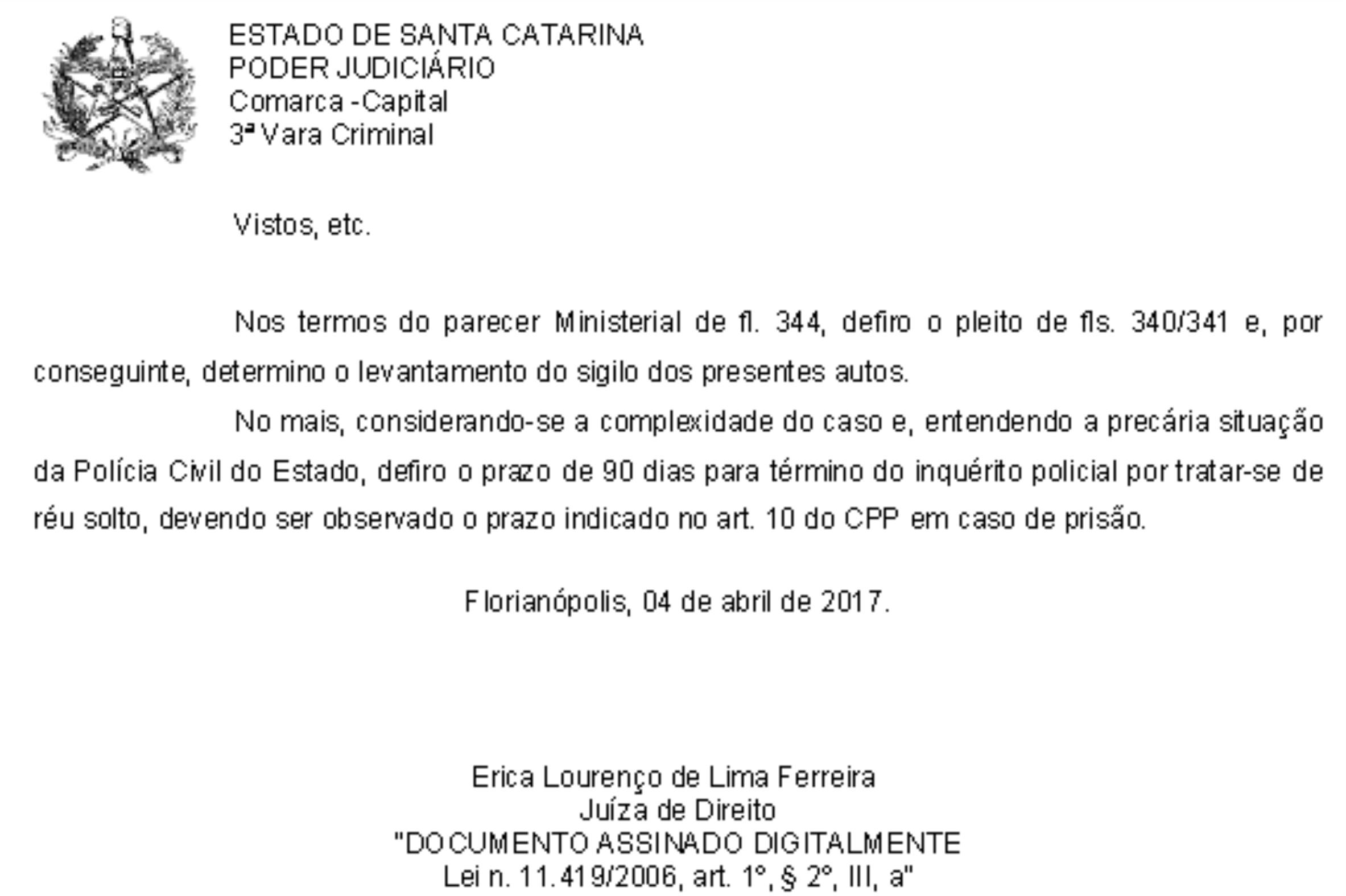 Juíza prorroga inquérito de estelionato por precariedade da situação da Polícia Civil
