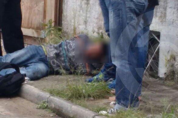 Populares prendem bandido após assalto em loja de Ingleses