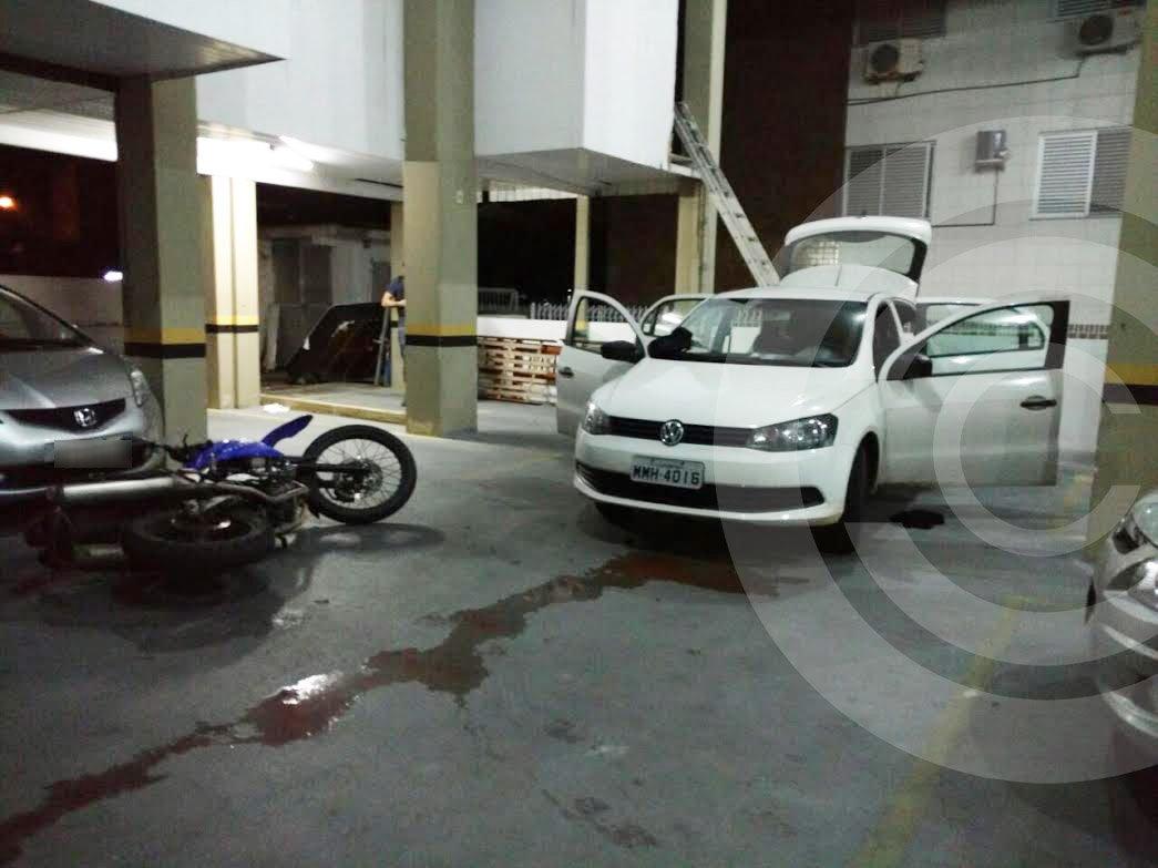 Bandidos trocam tiros na frente de peritos do IGP em Ingleses
