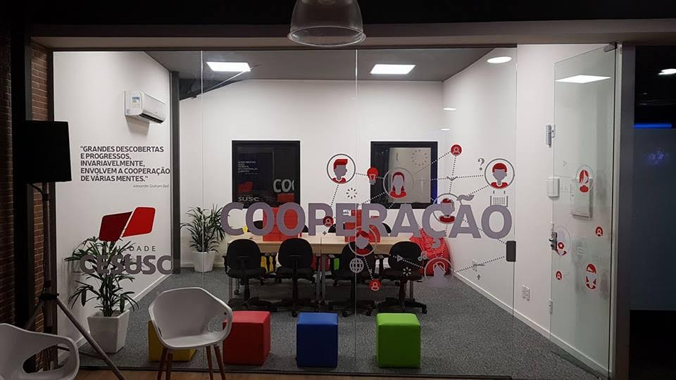 Faculdade Cesusc entrega espaço de conexão e negócios na Acate