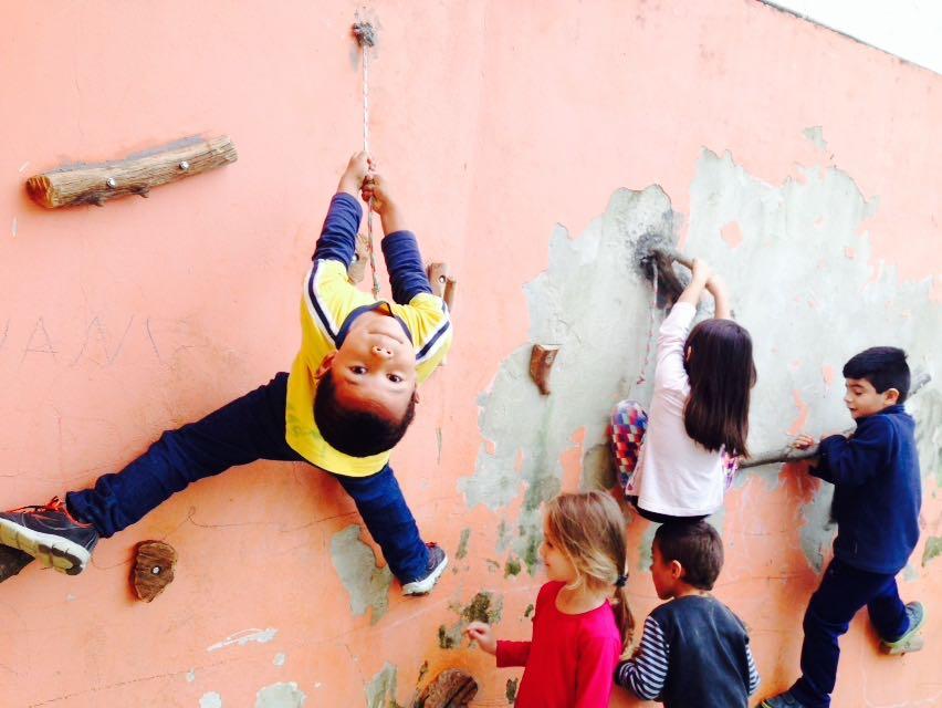 Transferida inauguração da parede de escalada em escola municipal