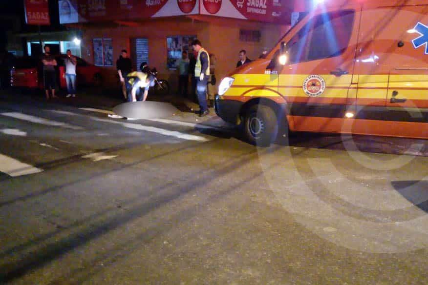 Motociclista morre após colisão com carro no Norte da Ilha
