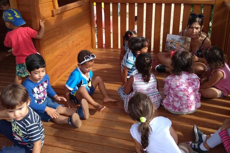 Creche Lausima Maria Laus, Rio vermelho-educação infantil-casinha dos sonhos
