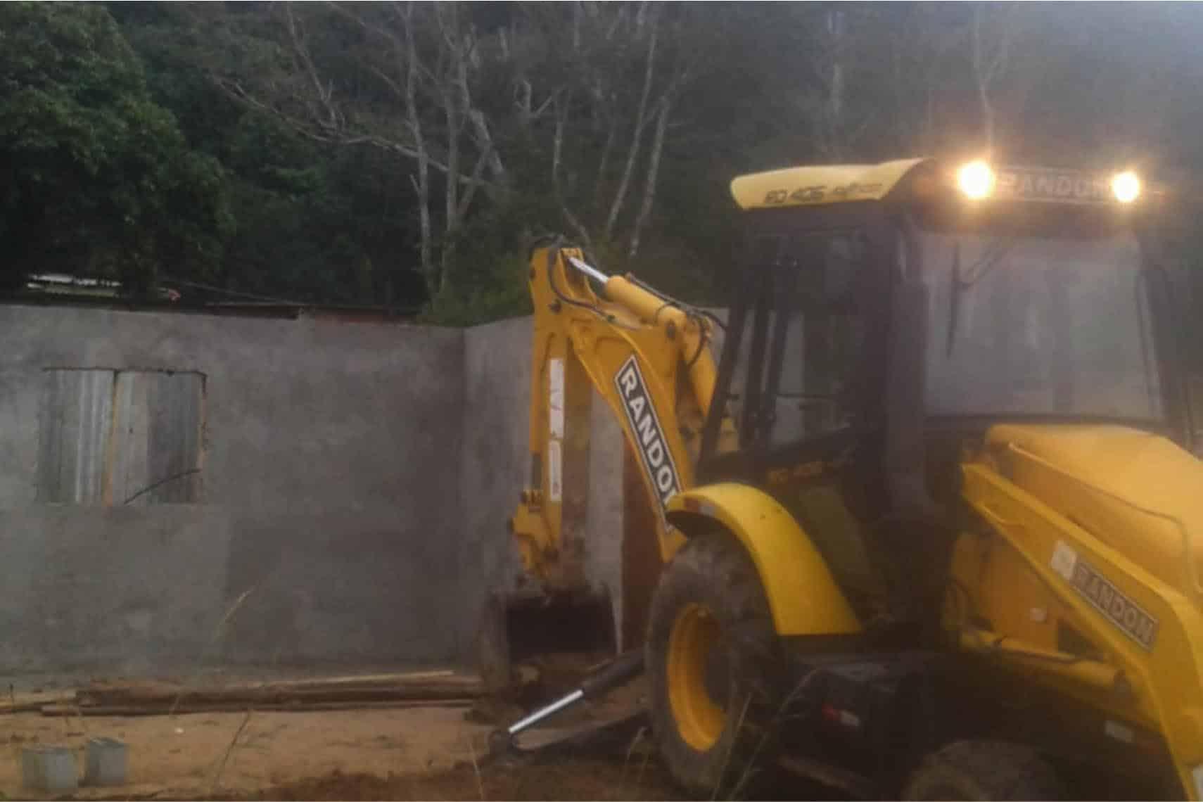 PM Ambiental realiza nova operação em área de ocupação irregular