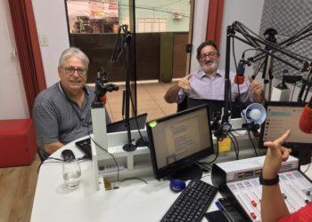 Paulo Charuto e Marreco no Planeta Gaúcho | Foto: Emanuel Soares / Jornal Conexão Comunidade